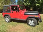 1991 Jeep Wrangler  6 cylinder, manual 5 speed - runs very well