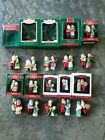 HALLMARK ORNAMENTS MR. AND MRS. CLAUS COMPLETE SERIES Lot of 10 – 1986-1995