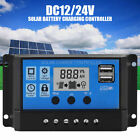 10A 100A MPPT Solar Panels Battery Charge Controller LCD Inverters Regulator CE