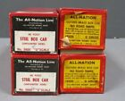 All Nation Line O Gauge Freight Car Kits 3600  6500 4 Box