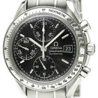Polished OMEGA Speedmaster Date Steel Automatic Mens Watch 3513.50 BF337914