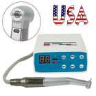 Dental Led Brushless Electric Micro Motor 15 Increasing Contra Angle Handpiece