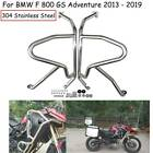 For BMW F800GS ADV Adventure Bumper Engine Crash Bars Guard Protector 2013- 19 S