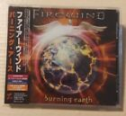 FIREWIND Burning Earth Japan edition CD OBI STRIP kenziner ozzy osbourne malmste