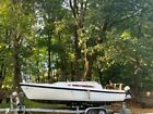 25ft 1986 Macgregor Sailboat with custom double axle trailer