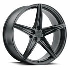 22 XO Auckland Black 22x9 Forged Concave Wheels Rims Fits Audi Q5