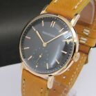 Vintage JAEGER LECOULTRE, 18 kts solid gold, big size, cal 449, made in 50's