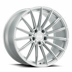 22 XO London Silver 22x9 Concave Multispoke Wheels Rims Fits Audi Q5