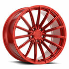 22 XO London Red 22x9 Concave Multispoke Wheels Rims Fits Audi Q5
