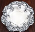 GORHAM STERLING SILVER BOWL WITH SWIRLING REPOUSSE DECORATION NO MONO 447M