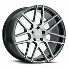 20 XO Moscow Grey 20x9 20x105 Wheels Rims Fits Mercedes Benz E350 E500 E55 E63