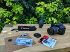 Canon 550D DSLR Camera + 18-55mm IS Lens - JAPAN - New 16GB SD!
