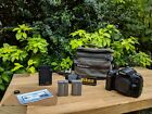 Nikon D90 DSLR Camera Body + 2 Batteries + Charger + Bag +Extras!