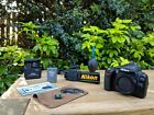 Nikon D60 DSLR Camera Body + Battery +Charger  + Accessories