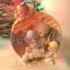 Precious Moments Nativity Wall Hanging Vintage Angels Christmas Jesus Manger