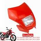 Red Headlight Fairing For Honda CRF150F CRF230F 2015-2020 2019 Enduro Supermoto