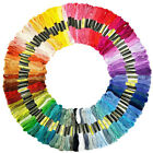 100 Colors Rainbow Embroidery Floss Cross Stitch Threads DIY Crafts Jewelry Cord