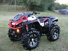 2016 Can am OUTLANDER XMR 850 EFI 4x4 W POWER STEERING  ONLY 1200 MILES NICE