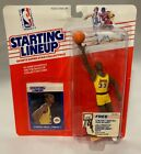 1988 Starting Lineup SLU Kareem Abdul-Jabbar Action Fig Slam Dunk Sticker,(B84)