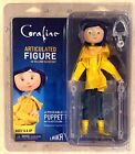 Coraline in Yellow Raincoat - 7-inch Articulated Figure - NECA Laika - In Stock