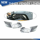 Black Rear Inner Fender Liner Off Road Fit 2007 2018 Jeep Wrangler JK 4WD A1
