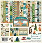 Carta Bella The Great Outdoors 12x12 Scrapbook Kit Papers + Stickers Camping