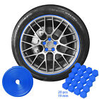 20pcs Car Hub Screw Wheel Nut Lug Cover Caps Bolt Rim 26ft Car Hub Wheel Strip