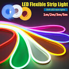 Outdoor Lighting Colorful Silicone Tube LED Strip Waterproof Neon Light