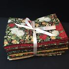 Christmas Xmas Holiday Gold 25 BTHY 100 Cotton Quilt Craft Sew Fabric HH 170H