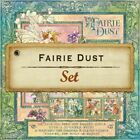 Graphic 45 G45 Fairie Dust Paper Pack Set 12x12 Plus Stickers Mythical Magic