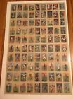 1910-11 T3 Turkey Red Baseball Cabinet Cards 24