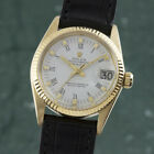 Rolex Datejust 18K 0750 Gold Automatik Damenuhr Lady Ref 6827 VP 23400 €