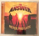 The Answer - Never Too Late [CD/DVD] [EP] (Northern Ireland) (CD, Nov-2008)