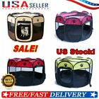 Dog Pet Tent Portable Cage Folding Kennel Puppy Playpen House Fence Tent Bag