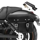 Saddlebag + Support for Keeway Superlight 125 Fargo left