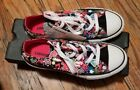 CONVERSE All Star Low Top Youth Colorful Cartoon Canvas Kids Sneaker Junior Sz 3