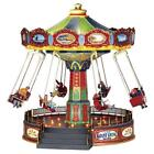 Lemax ~ The Giant Swing Village Carnival Ride