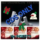 2 CDS: REO Speedwagon The Hits PLUS Not So Silent Night 🎄🦃🎄No INSERTS 🎄🦃🎄