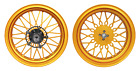 Forged Aluminum Alloy Wheel Set Yamaha Zuma 125 2016-2020 BWS Fi Matt Golden