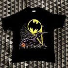 Vintage Batman DC Comics Superhero Promo T Shirt 1988 80s 90s Large