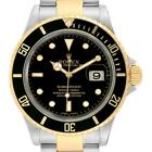 Rolex Submariner Steel Yellow Gold Automatic Mens Watch 16613