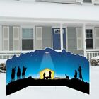 Christmas Nativity Lawn Sign Display FREE SHIPPING