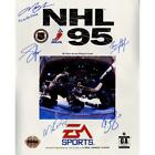 New York Rangers Multi-Signed NHL 95 Metallic 16x20 Photo & Its In the Game Insc