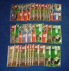 1972 SUNOCO FOOTBALL LOT OF 50 PACKS W/ 450 STAMPS *207643