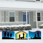 Nativity Christmas Yard Sign Display 2 3 Pieces FREE SHIPPING