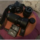 Nikon D40 With 18 55  55 200 Lenses + Extra