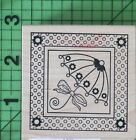 Shower Umbrella E409 rubber stamp by Outlines Rubber Stamp Co New