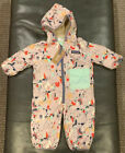 Patagonia Infant Girls Reversible Puff Ball Bunting BHGPMSRP 99 NWTs