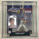 Chipper Jones Toy Sports Action Figure w Card Atlanta Braves Starting Lineup 2