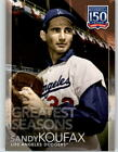 Sandy Koufax Named 2011 Topps Prime 9 Redemption #9 7